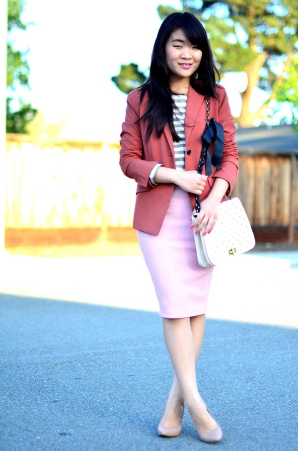daily disguise bag jacket t-shirt skirt shoes