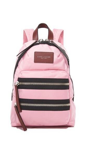 mini fleur backpack pink bag