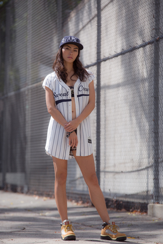 sweat the style blogger jersey cap urban dope