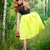 Bright Green Midi Skater Skirt | Choies