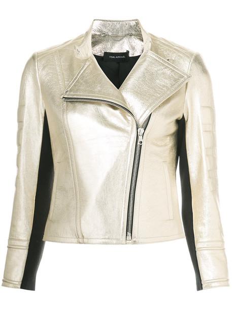 Yigal Azrouel jacket metallic women grey