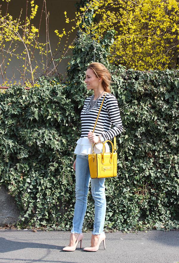 fashion spot blouse jeans shoes jewels