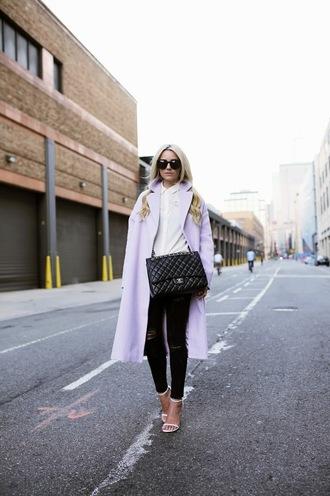 bag top jacket blogger atlantic pacific