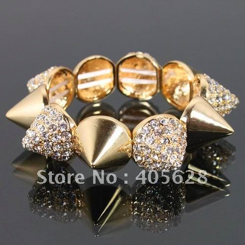Fashion crystal spike bracelet-in Special Store from Jewelry on Aliexpress.com