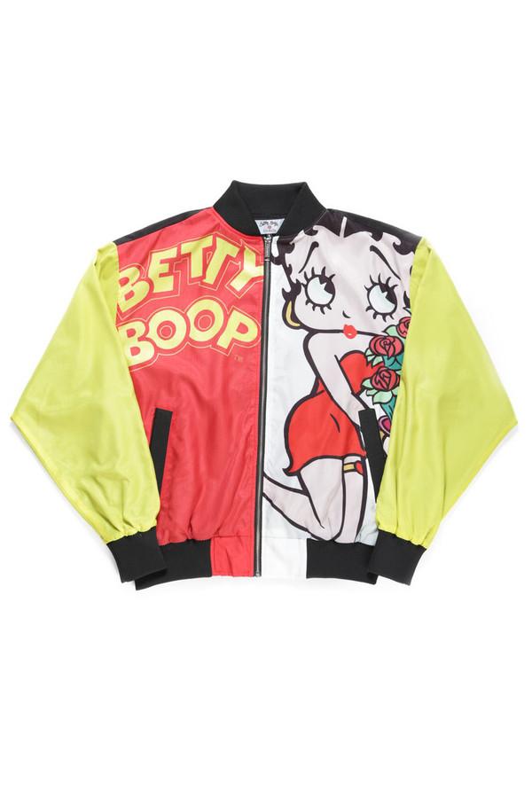 jacket betty boop JOYRICH X GIZA bomber jacket vintage