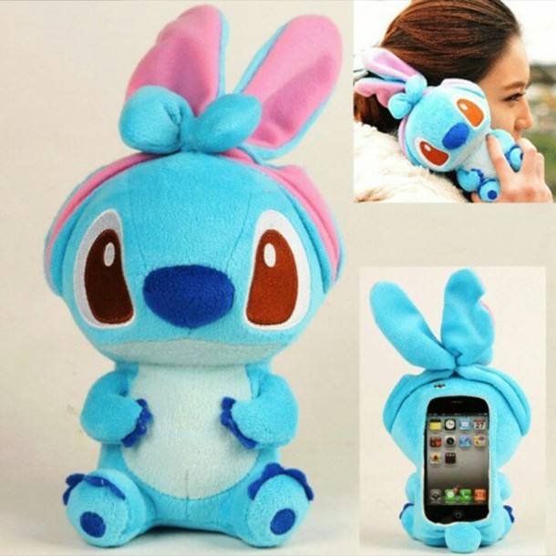 Coque Iphone  Peluche