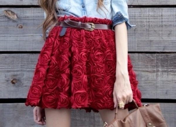 skirt roses