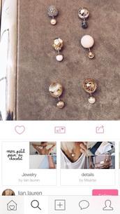 jewels,jewelry,earrings,double ball earrings,double sided earrings