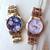 Retro Floral Bracelet Watch