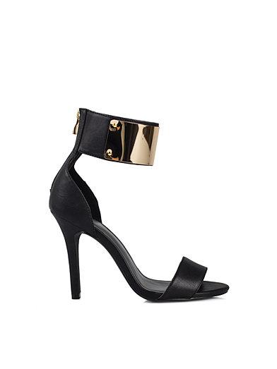 Cuffed Nly Shoes Svart Festsko Sko Kvinne