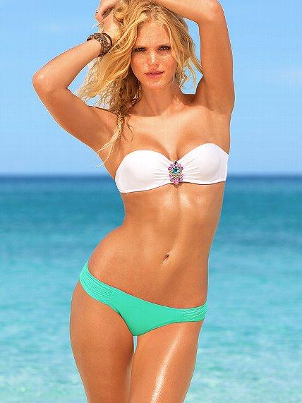 adaeefaa67fdb Jeweled Push-Up Bandeau Top - Beach Sexy - Victoria's Secret