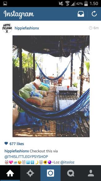 amazing hippie jewels hammock relax place take tike