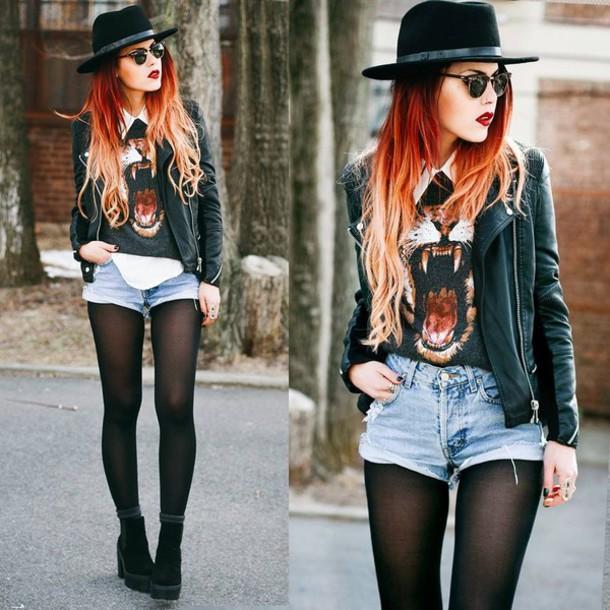 Grunge Style Hat Happy Grunge Style Fashion