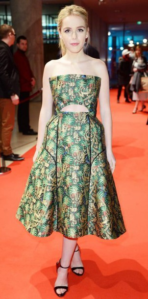 dress kiernan shipka red carpet dress