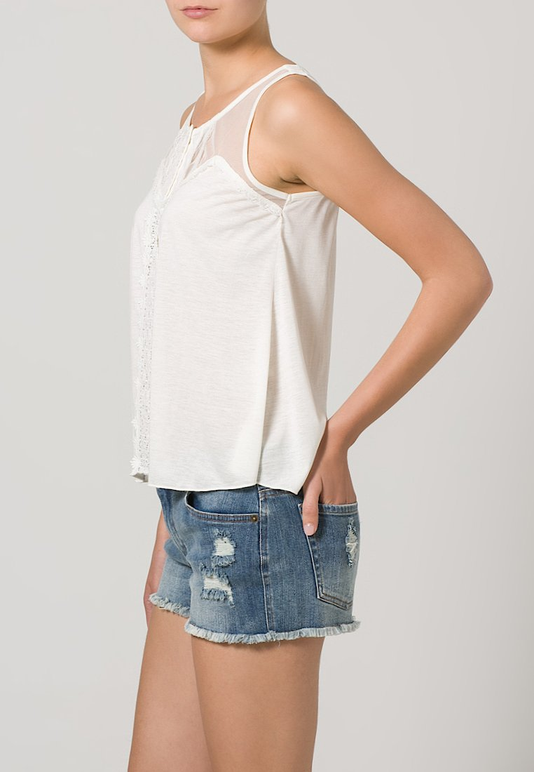 Denim & Supply Ralph Lauren YOKE - Top - antique cream - Zalando.de