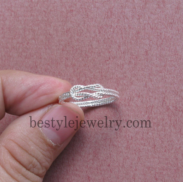 jewels perfect gift geometrical jewelry eternity promise ring ring jewelry unique ring simple knot forever ring & jewels perfect gift geometrical jewelry eternity promise ring ...