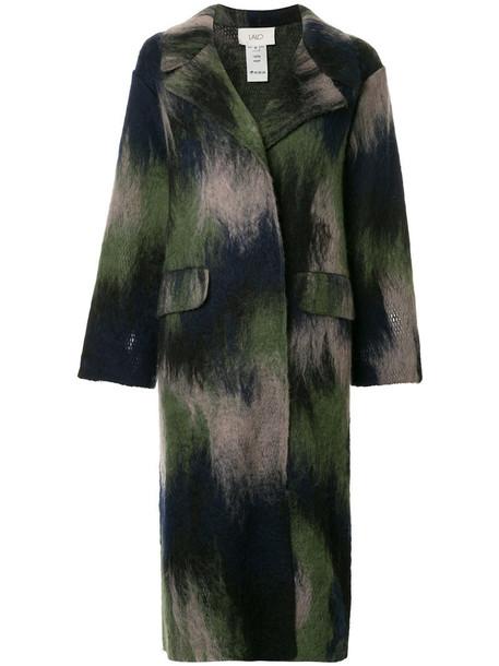 Lalo coat women wool green