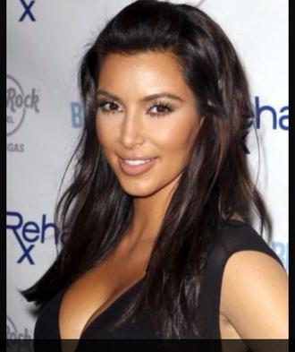 make-up kim kardashian style
