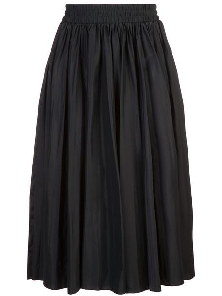RED VALENTINO skirt midi skirt women midi spandex black