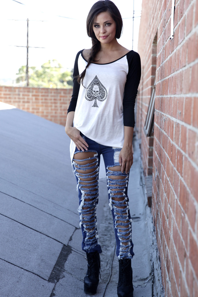 Ace High-Low Baseball Top