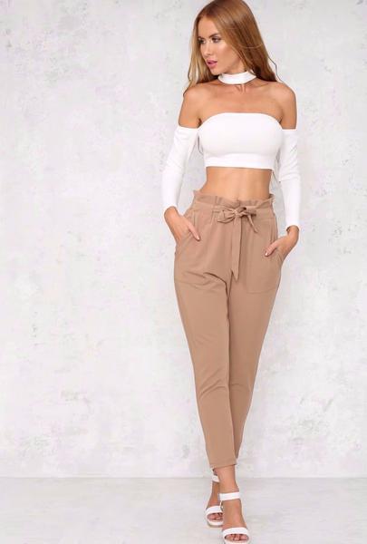 Chelsea Pants - Brown