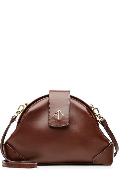 bag crossbody bag leather bag brown
