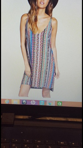 dress tribal pattern pattern colorful