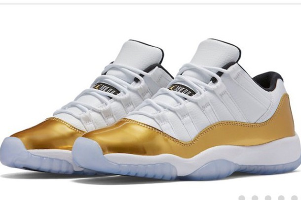 jordan shoes gold