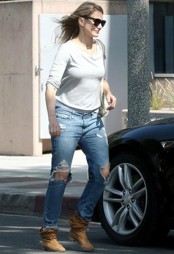 sunglasses cameron diaz jeans