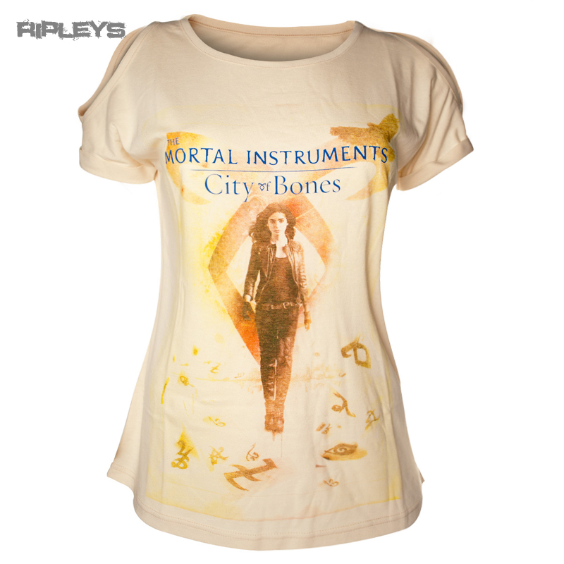 Official Skinny T Shirt The Mortal Instruments CLARY FRAY City of Bones All Size
