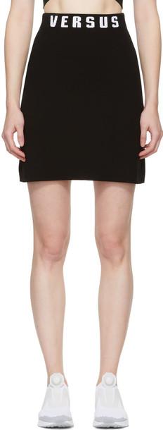 Versus miniskirt black skirt