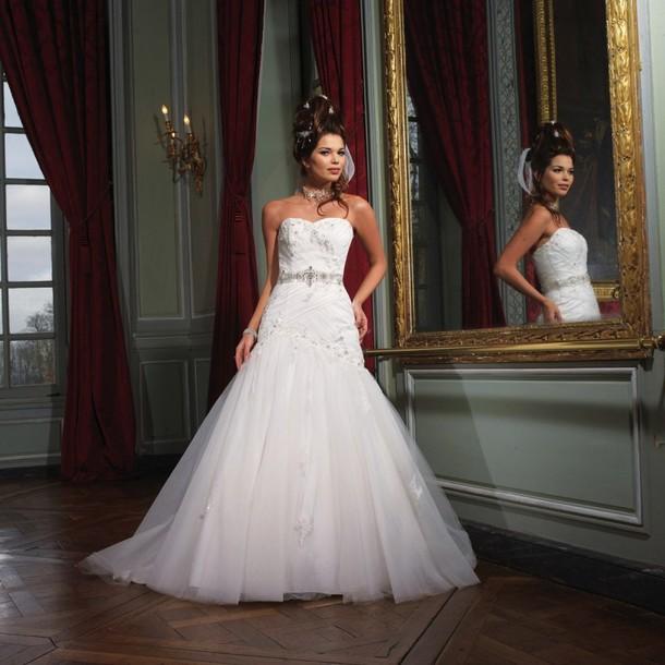 dress blanc wedding dress