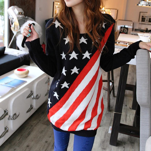 sweater flag loose