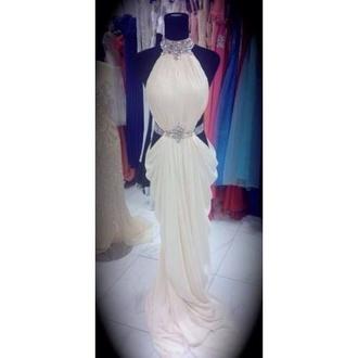 dress white prom dress prom tumblr sparkle glitter perfect long white dress long dress cute chic white prom dress white dress