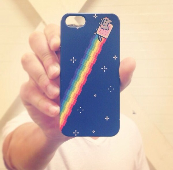 bag iphone 5 case pop tart kitty