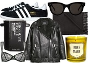 jane's sneak peak,blogger,sunglasses,underwear,adidas shoes,shearling jacket,candle,holiday gift,food,scarf,jacket