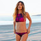 Fushia tie-dye bikini – dream closet couture