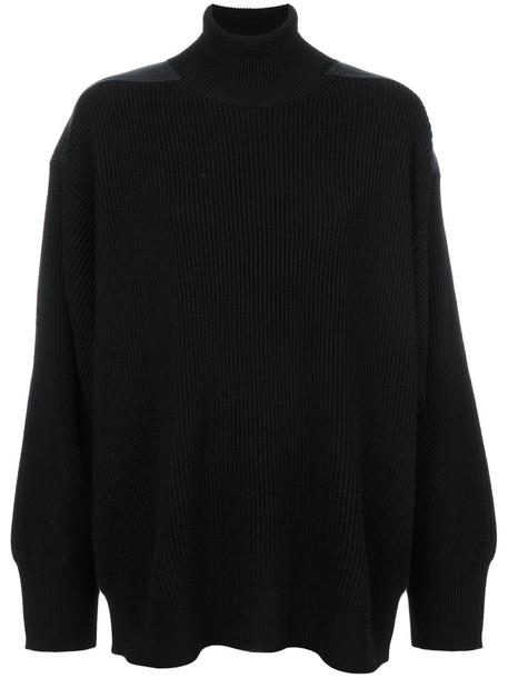 Stella McCartney jumper turtleneck women black wool sweater