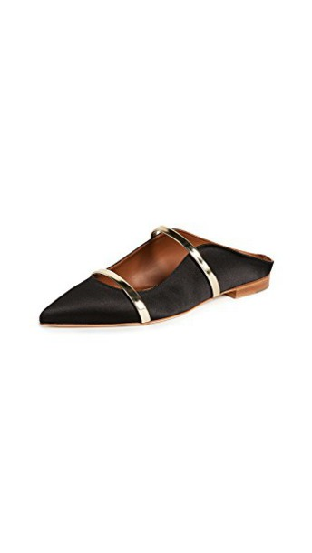 MALONE SOULIERS flats black shoes