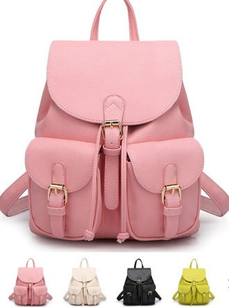 bag girl girly girly wishlist pink pink bag pink backpack backpack