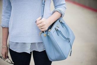 bag handbag blue bag blue bags