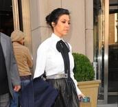 top,kourtney kardashian,kourtney kardashian style,bows
