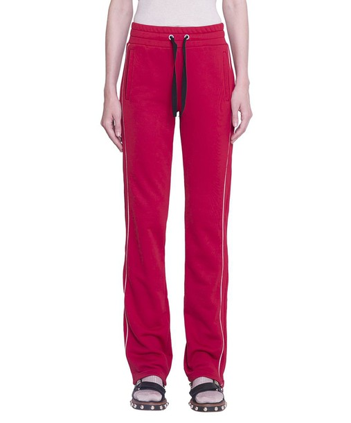 RED VALENTINO pants track pants cotton