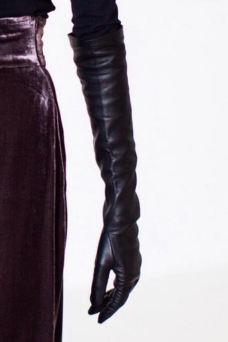 gloves long