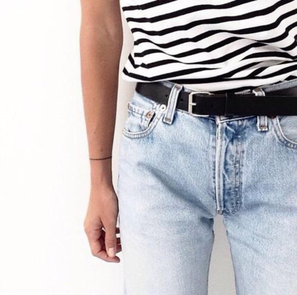 jeans belt