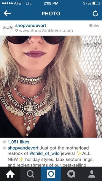 jewels gypsy necklace