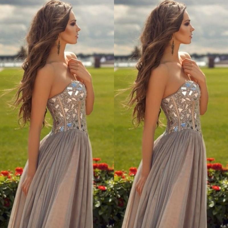 Womens Evening Wear Girls Graduation Dress Long Evening Dresses ...