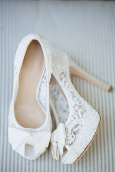 shoes white shoes white high heels high heels bow