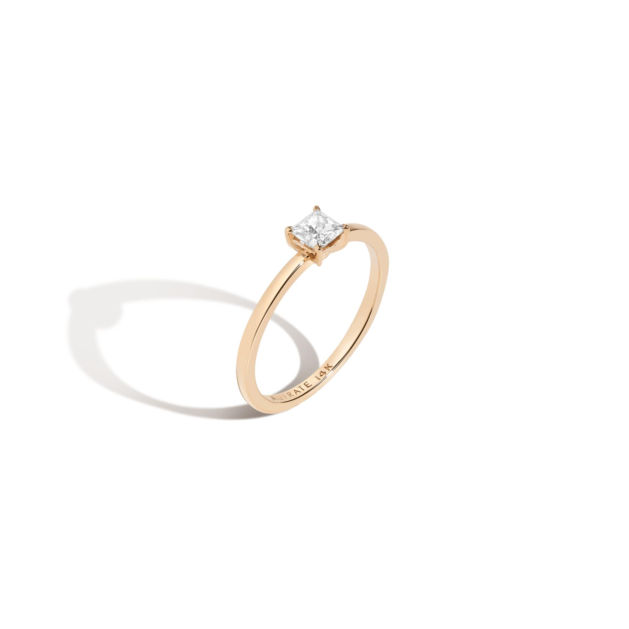 Large Diamond Solitaire Ring