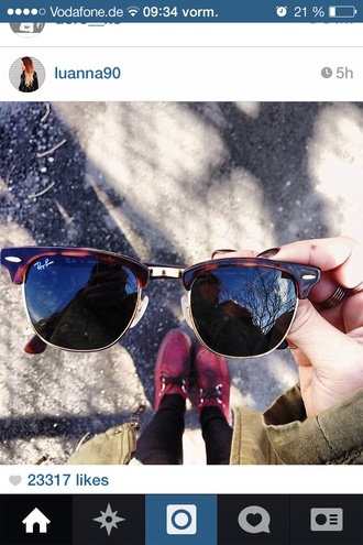sunglasses round sunglasses rayban ray ban sunglasses glasses hippie vans creepers shoes